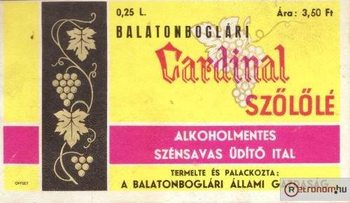 Cardinal szőlőlé