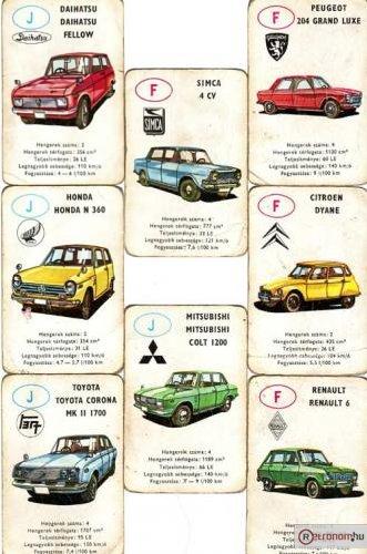 Autóskártya J-F