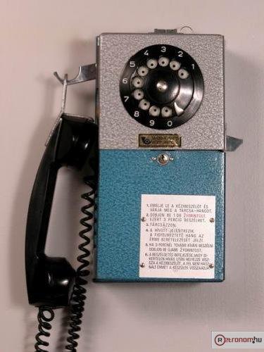 Nyilvános telefon CCB beltéri