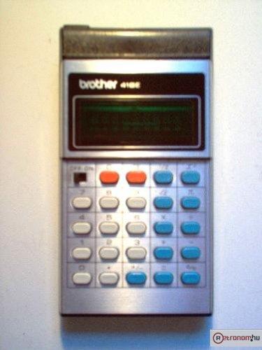 BROTHER számológép 418E