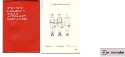 Kézikönyv sorkatonák számára