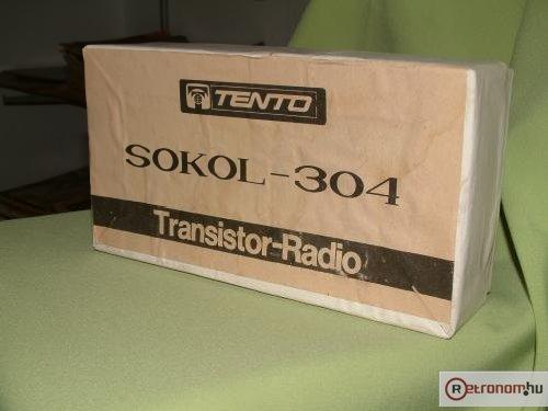 Sokol rádió 304 doboz