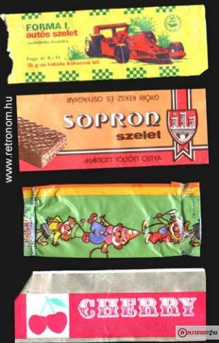 Csokoládé szeletek