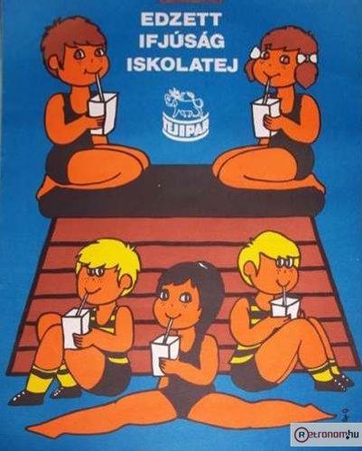 Iskolatej plakát