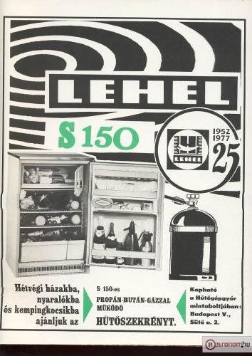 Lehel hűtőszekrény S150