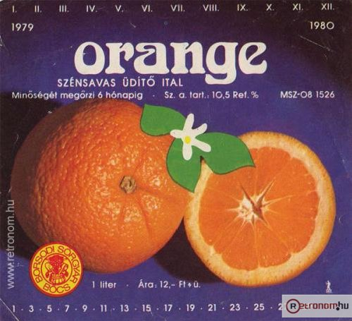 Orange üdítő