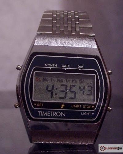 Timetron kvarcóra 7-zenés