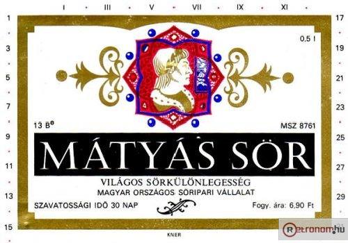Mátyás sörcimke