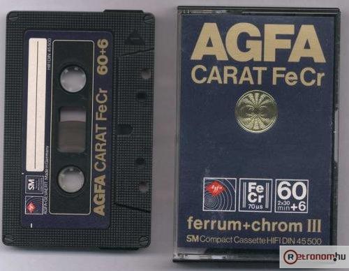 AGFA Carat  kazetta