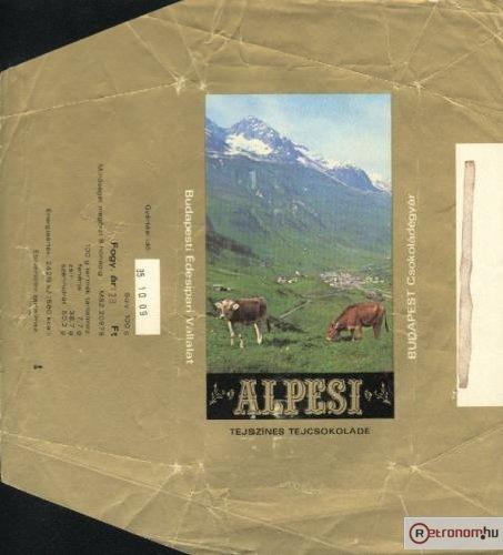 Alpesi csokoládé