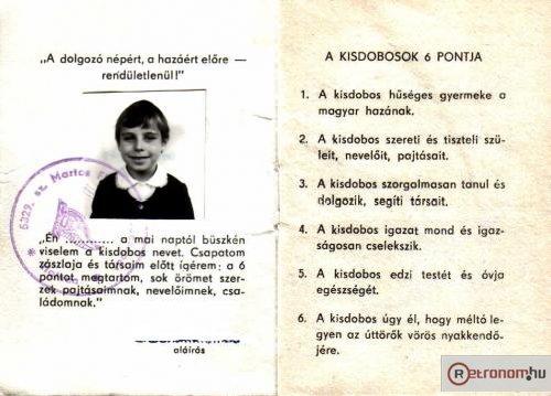 Kisdobos tagsági könyv 2
