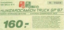 Hungaroring Kamion gyorsasági EB-futam