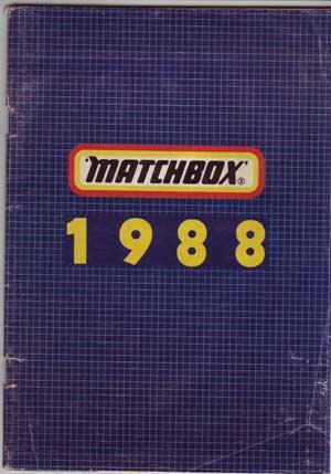 Matchbox katalógus 1988