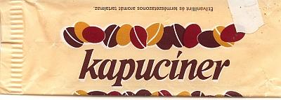 Kapucíner csokoládé szelet