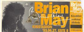 Brian May koncertjegy