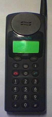 Siemens mobiltelefon - S3