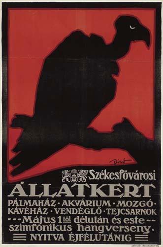 Állatkert plakát