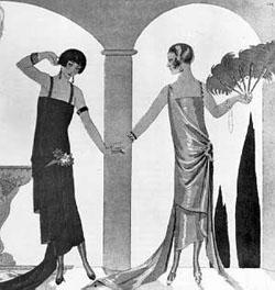 Art Deco ruhák