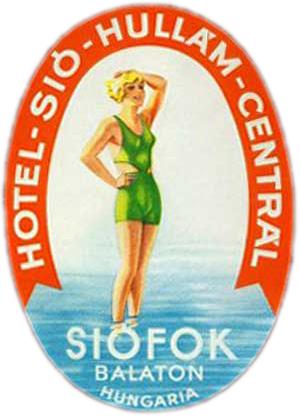 Siófok Hotel  Sió Hullám Centrál