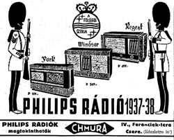 Phillips rádiók