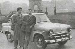 Moszkvics 407 Taxi