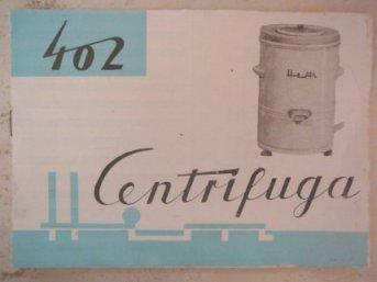 Hajdu 402 centrifuga használati utasítás