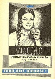 Amigo pörköltkávé