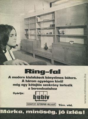 Bubiv Ring-fal
