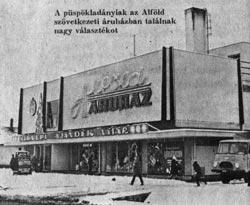 Püspökladány Alföld áruház