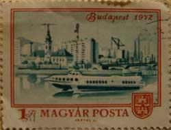 Budapest bélyeg