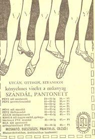 Pantonett szandál