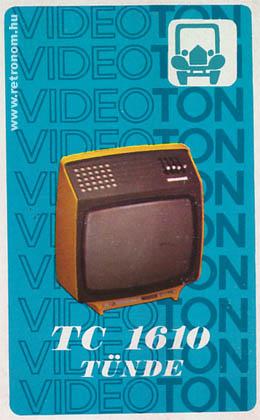 Videoton Tünde televízió