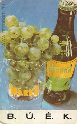 Márka üdítő szőlő