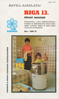 Riga mosógép