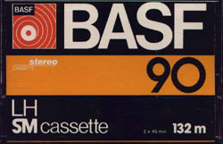 BASF kazetta