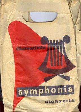 Symphonia cigaretta papírzacskó