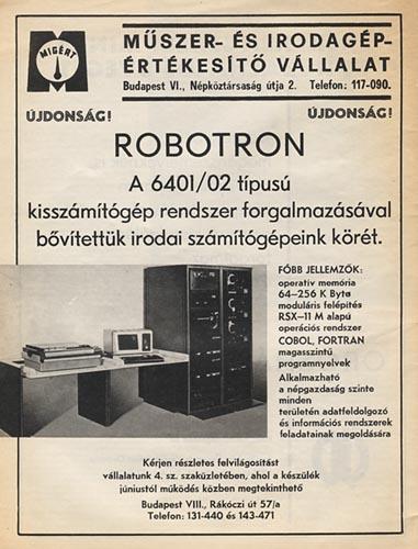 Robotron számítógép