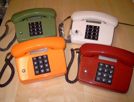 Nyomógombos telefonok