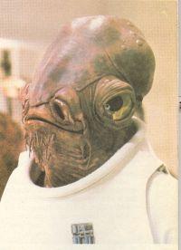 Star Wars Ackbar admirális