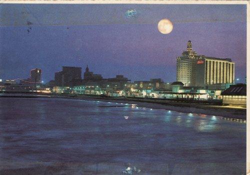 Atlantic City holdfényben