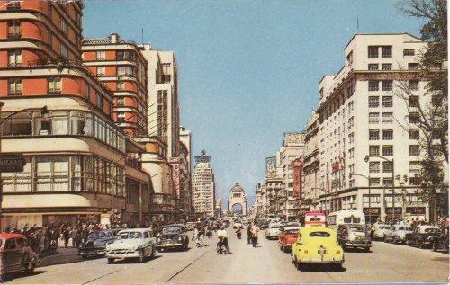 Mexico City Juarez sugárút