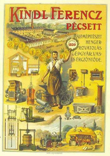 Kindl Ferenc Pécsett (plakát)