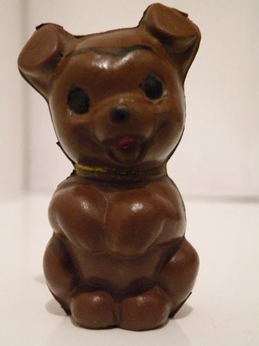 Játék kutya gumiból