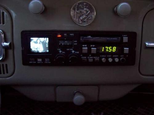YOKO CCTV-1 tv-s autórádió