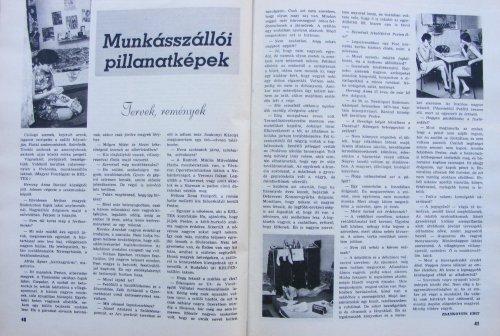 Munkásszállói pillanatképek (Ifjúkommunista folyóírat)