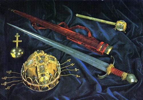 Magyar koronázási jelvények