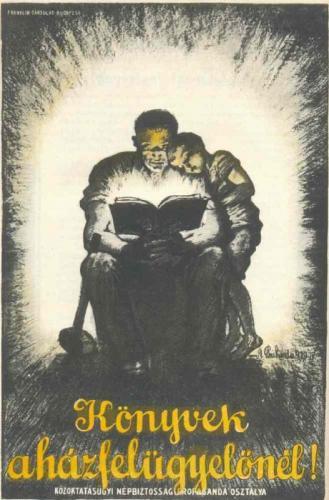 Könyvek a házfelügyelőnél!