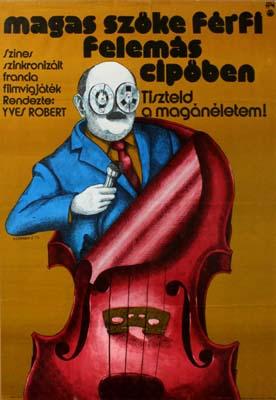 Magas szőke férfi… plakát