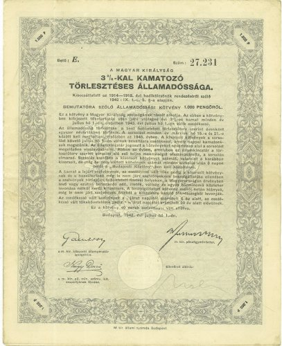 Államadóssági kötvény