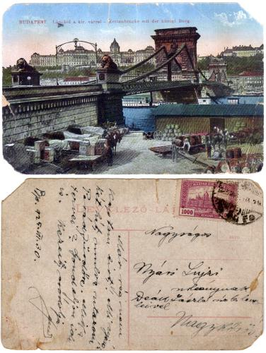 Lánchíd képeslap